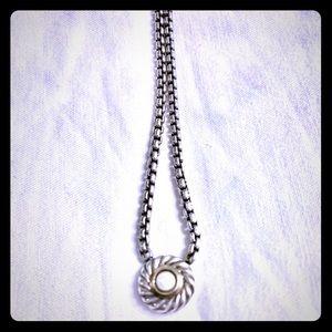 David Yurman Cultured Pearl Necklace